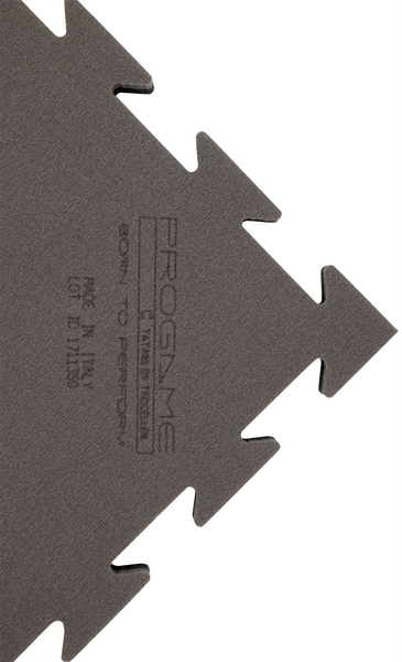 Bilde av ProGame BASIC flettematte - Svart/Grå