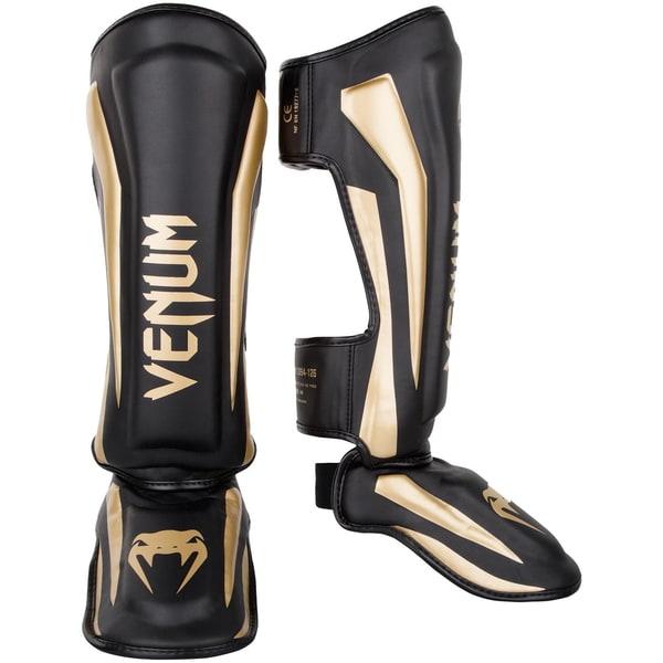 Bilde av VENUM Elite Legg og Vristbeskytter - Svart/Gull