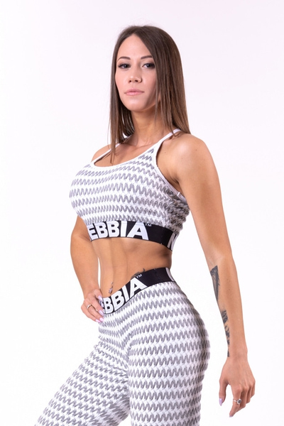 Bilde av NEBBIA Boho Style 3D Pattern Mini Top 659