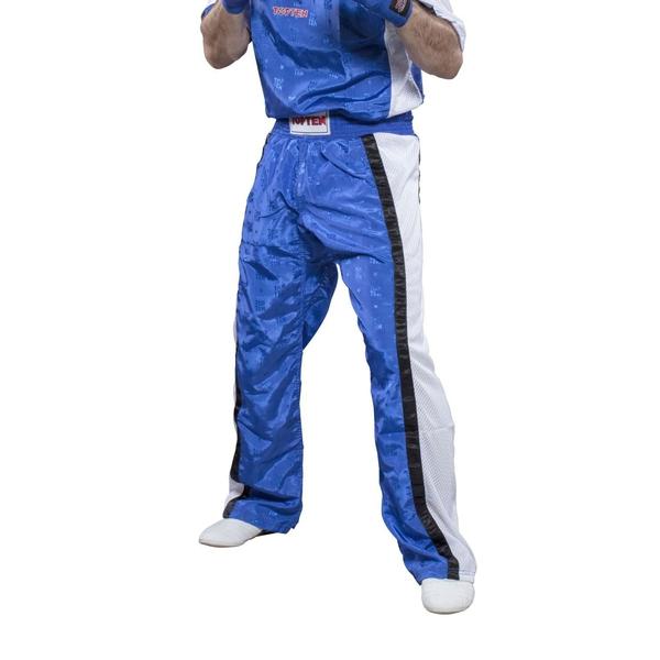 Bilde av TOP TEN Mesh Kickboxingbukse - Blå/Hvit