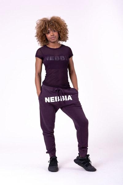 Bilde av NEBBIA Drop Crotch Bukse Lilla 274