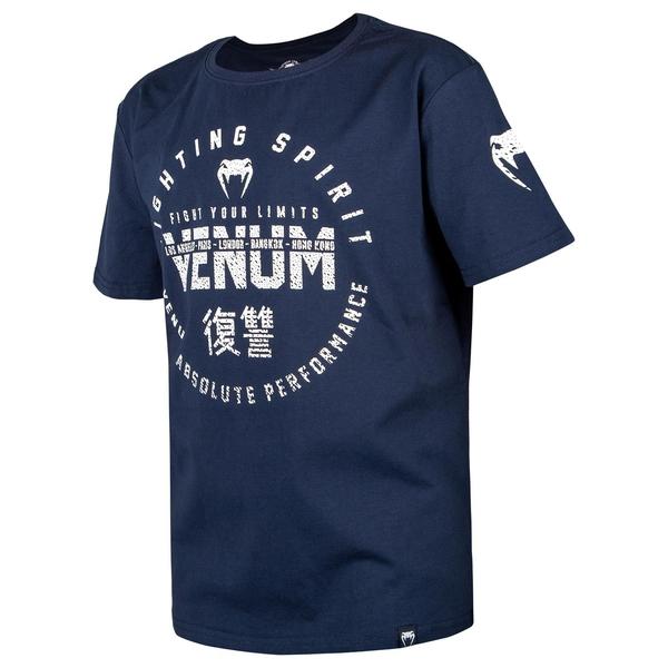 Bilde av VENUM Signature T-skjorte for barn - Marine blå