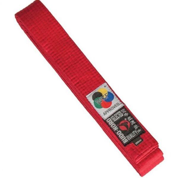 Bilde av BUDO-NORD Premium WKF belte rødt