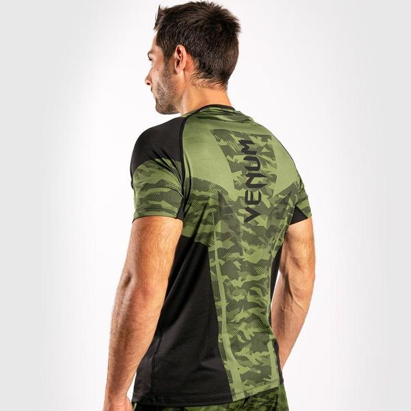 Bilde av VENUM Trooper Dry Tech T-skjorte - Camo/Svart