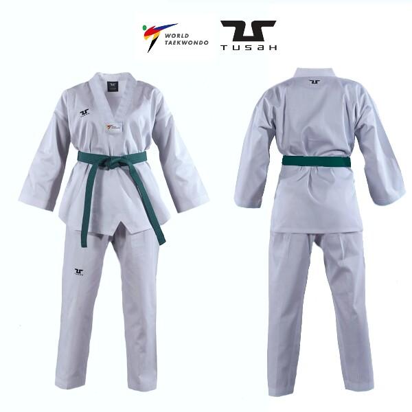 Bilde av TUSAH Nybegynner WT-Godkjent Taekwondodrakt