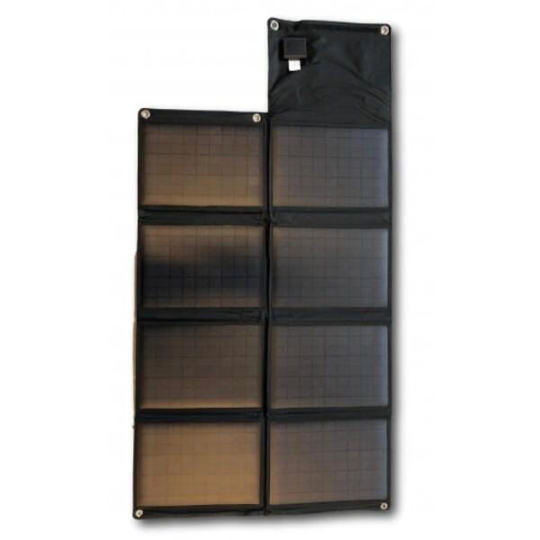 Bilde av SKANBATT Solcellepanel Sammenleggbart 80W