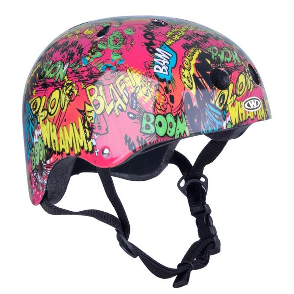 Bilde av Freestyle hjelm for barn WORKER Komik rød
