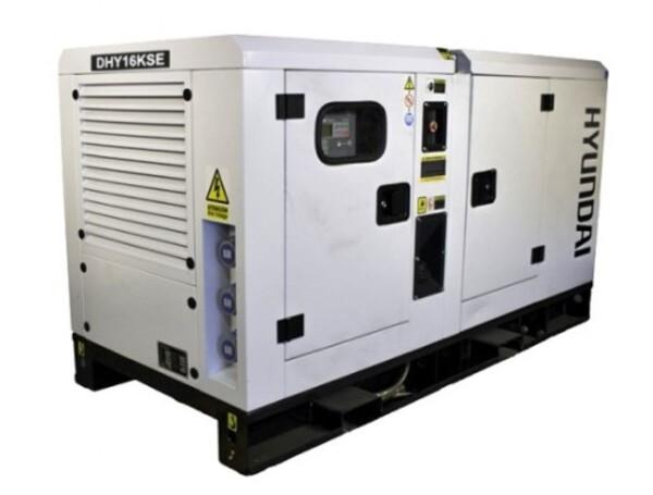 Bilde av HYUNDAI DHY16KSE Diesel strømaggregat 16,5kVA