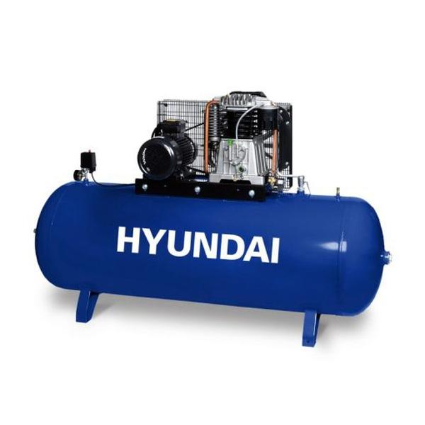 Bilde av HYUNDAI kompressor 10T 500 L 10Bar 3fas.