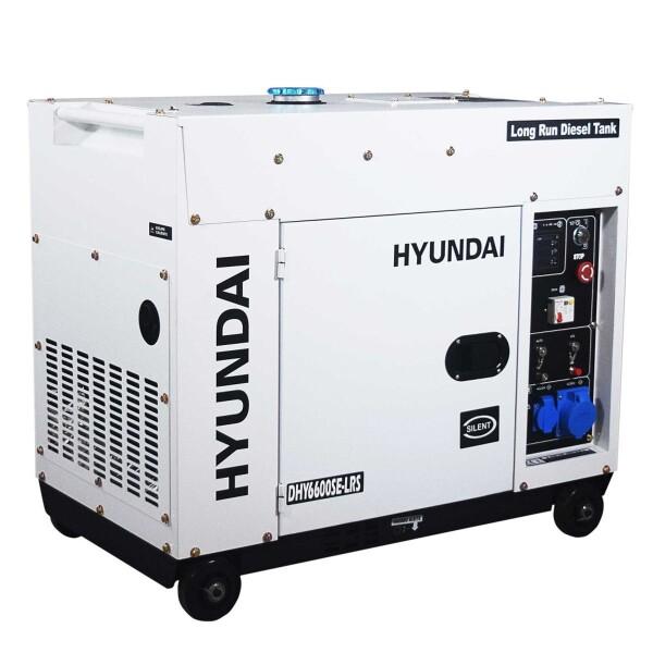 Bilde av HYUNDAI DHY6600SEStrømaggregat 6600W - Elektrisk