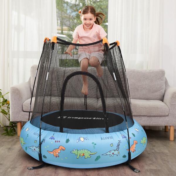 Bilde av inSPORTline oppblåsbar trampoline til barn Nufino