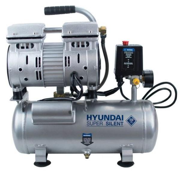 Bilde av HYUNDAI Stillegående kompressor 6 Liter 8 bar
