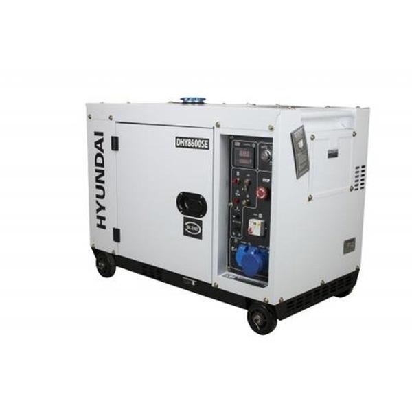 Bilde av HYUNDAI DHY8600SEStrømaggregat 6300W - Elektrisk