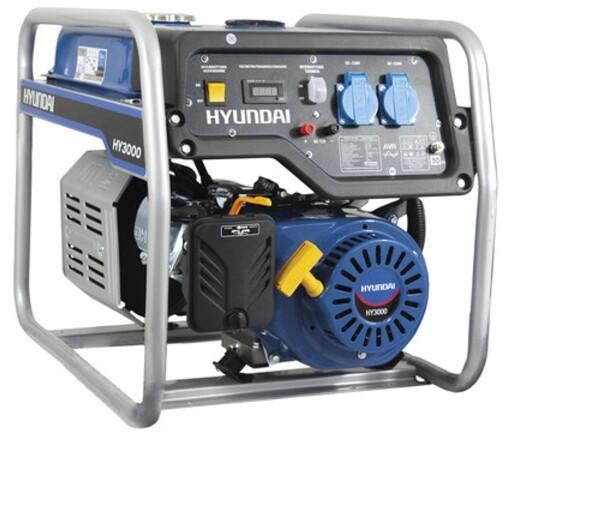 Bilde av HYUNDAI HHY3000FStrømaggregat 2800W - Standard