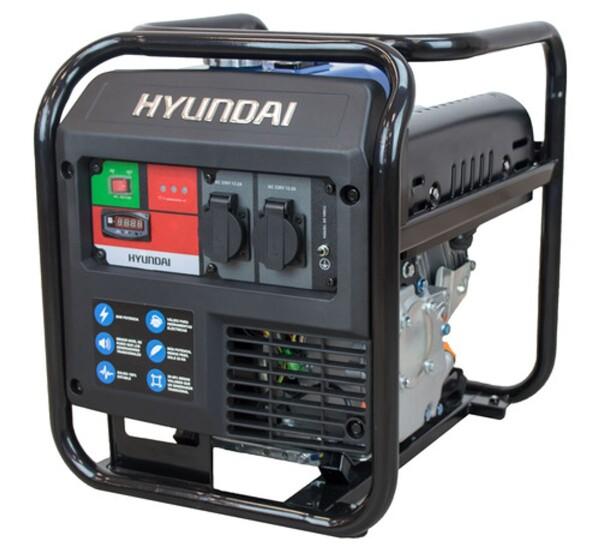 Bilde av HYUNDAI HY3000C Inverter Aggregat 3000W - Åpen
