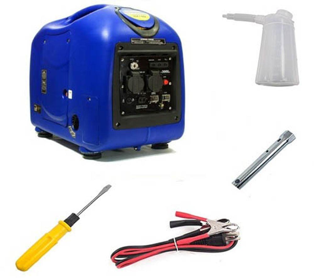 HYUNDAI HY3000SEi Inverter Aggregat 3300W - Elektrisk start - Be