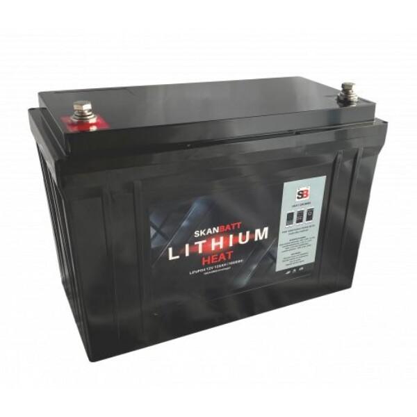 Bilde av SKANBATT Lithium HEAT Pro 12V 125AH 150A BMS