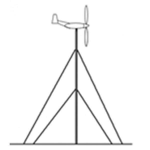 Bilde av Mast til Vindturbin 6m (401w->600w)