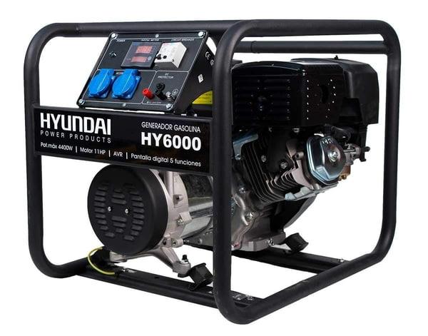 Bilde av HYUNDAI HY6000 Inverter Aggregat 4400W - Bensin
