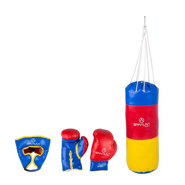 Bilde av Boksesekk barn m/hodebeskyttelse og hansker