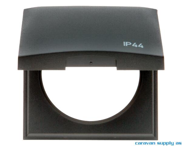 Bilde av Ramme til 1 bryter m/lokk IP44 Berker 60x60mm