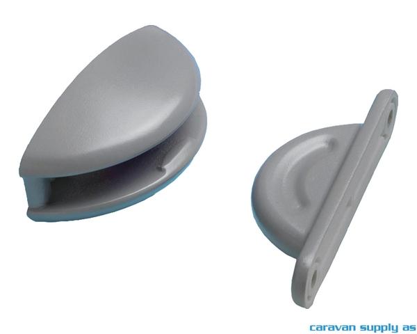 Bilde av Dørholder plopp grå