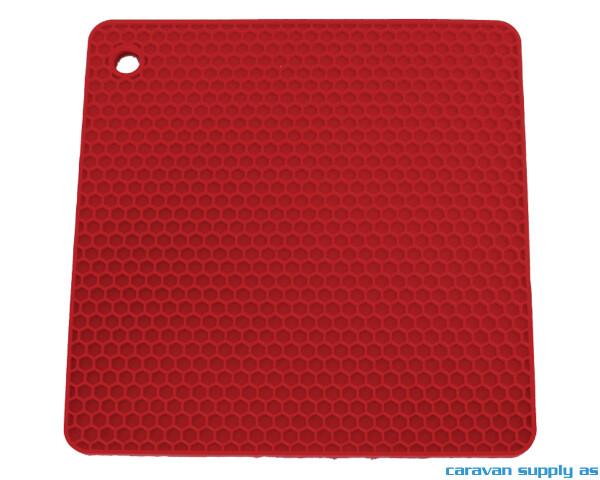 Bilde av Grytelapp LotusGrill silikon kvadrat rød