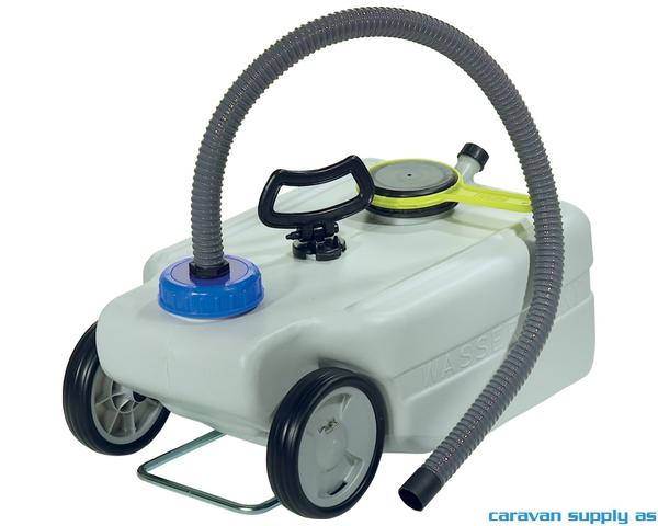 Bilde av Avfallstank Taxi 25l m/håndtak+hjul+slange