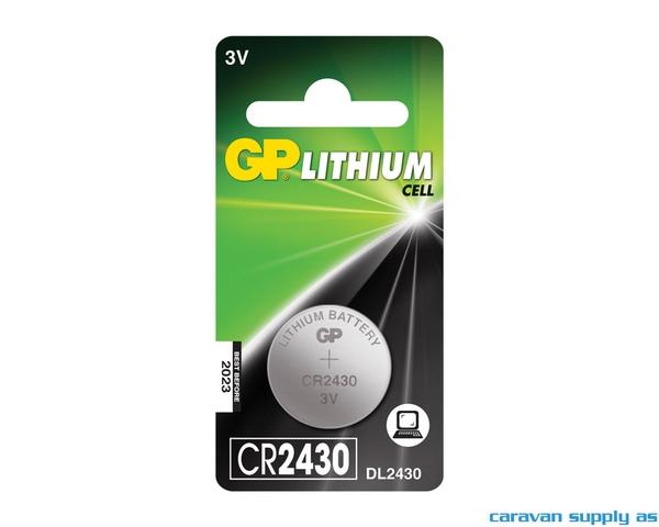 Bilde av Batteri GP Lithium CR2430 knappcellebatteri 3V