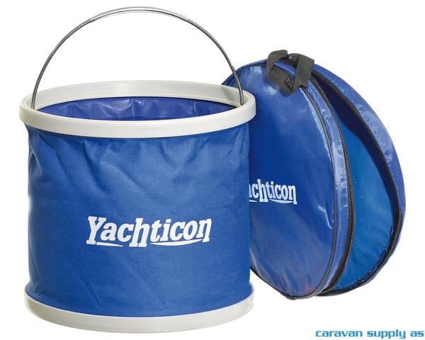 Bilde av Bøtte Yachticon rund sammenleggbar 9l Ø26x31cm
