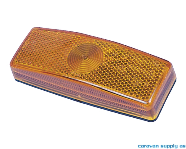 Bilde av Sidemarkeringslys Jokon kantet 110x42x25mm gul