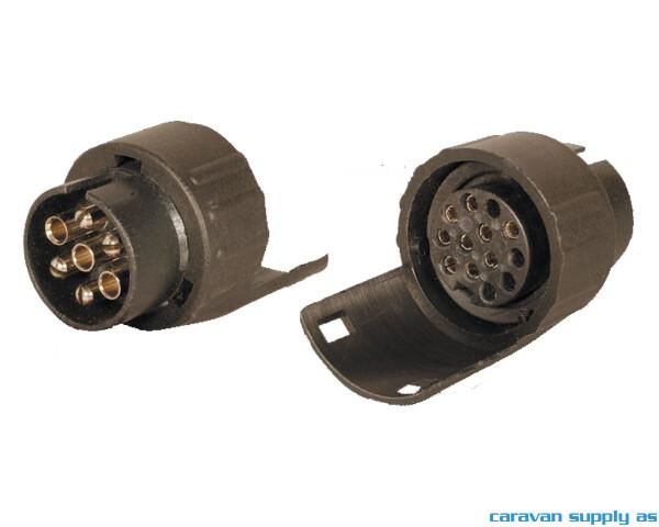Bilde av Adapter 7-13pol 12V mini