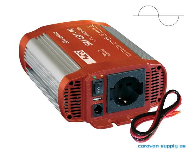 Bilde av Omformer NDS Smart-In SP400 400W ren sinus 12V