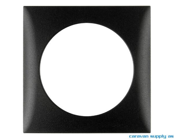 Bilde av Ramme til 1 bryter Berker 60x60mm antrasitt matt