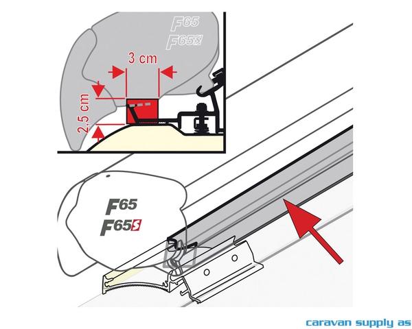 Bilde av Skumgummibånd til F65/F80 L:450cm