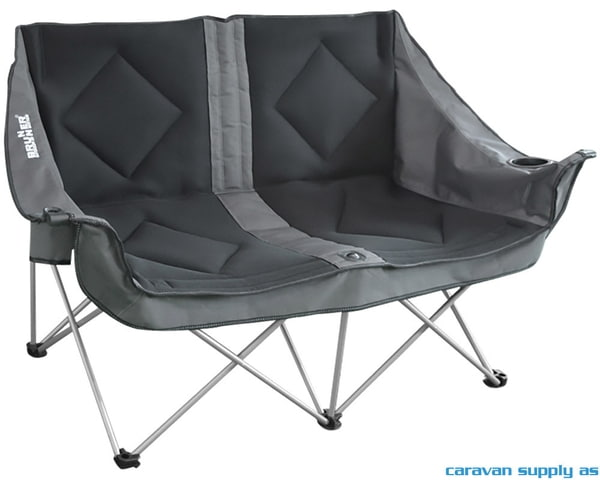 Bilde av Campingstol Brunner Action Sofa polstret 3D svart