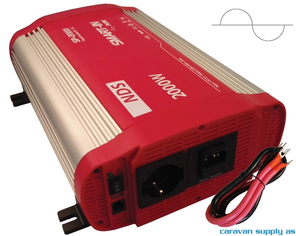 Bilde av Omformer NDS Smart-In m/IVT SP1500I 1500W ren