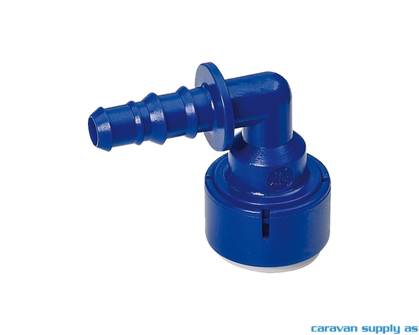 Bilde av Kobling UniQuick Ø12mm L til 12mm slange 533-8231
