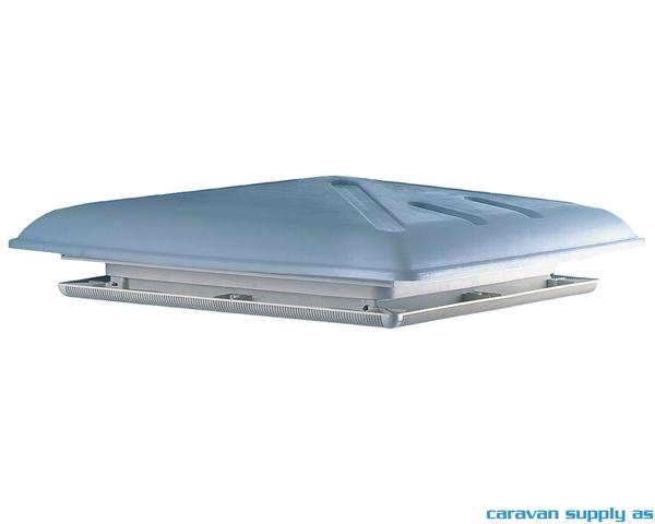 Bilde av Takluke 40x40cm MPK46K grå ramme hvit topp