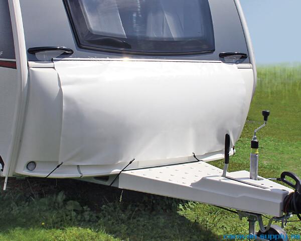 Bilde av Trekk til gasskasse Hindermann B165xH75cm hvit