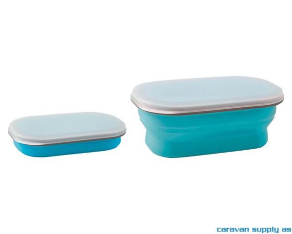 Bilde av Oppbevaringsboks Brunner Snack Box S 0,6l blå