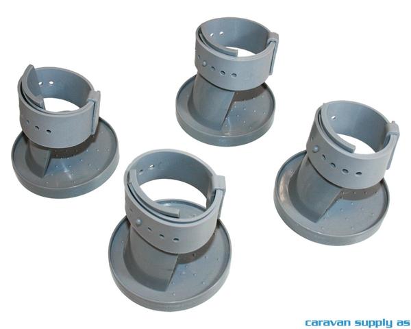 Bilde av Underlag Table Foot m/justerbar reim Ø15-60mm