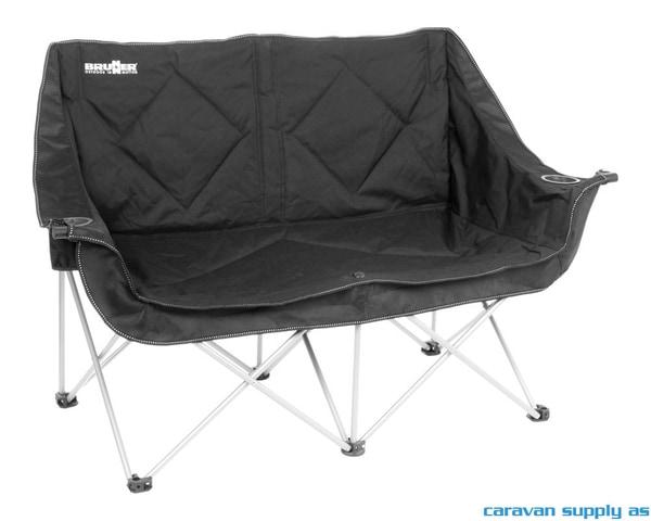 Bilde av Campingstol Brunner Action Sofa polstret svart