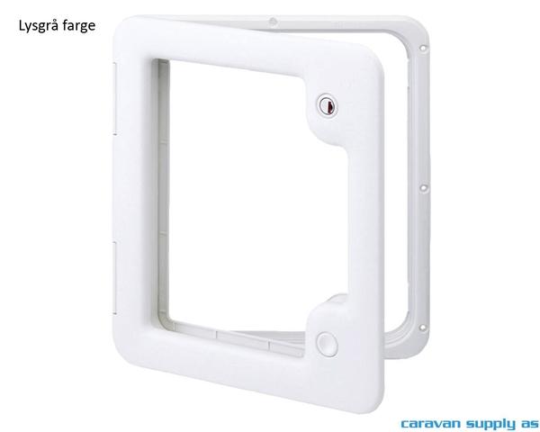 Bilde av Serviceluke Thetford modell 3 385x335mm lysgrå