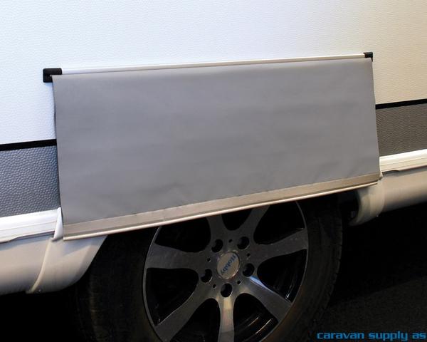 Bilde av Hjulbuedeksel Isabella 75x55cm universal grå