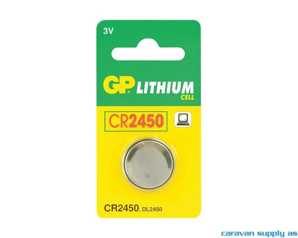 Bilde av Batteri GP Lithium CR2450 knappcellebatteri 3V