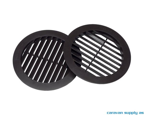 Bilde av Luftinntaksgitter til Freshwell 3000 Ø190mm svart