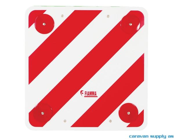 Bilde av Varselskilt til sykkelstativ 50x50cm PVC