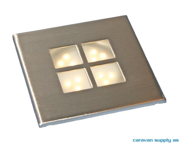 Bilde av Lampe Gamma LED 50 lumen 1W (5W) 12V innbygg Ø6cm