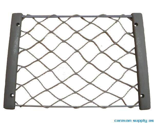 Bilde av Oppbevaringsnett m/ramme plast 32x22cm grå